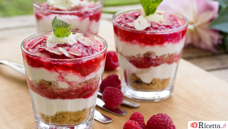 3 dolci estivi facili e veloci for Ricette dolci facili e veloci