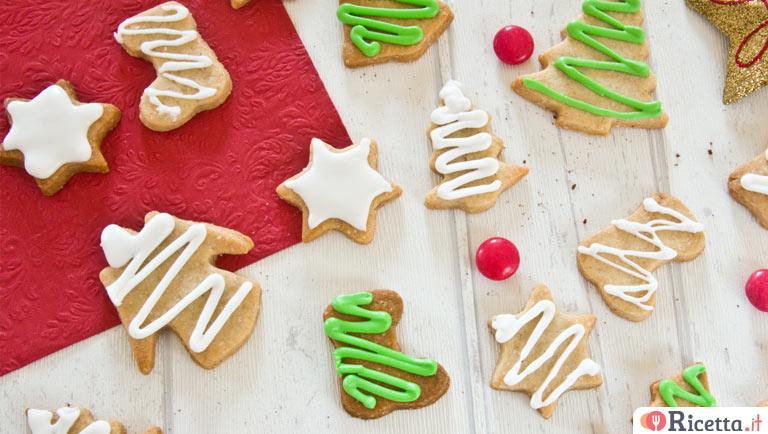 Ricetta Biscotti Di Natale.Biscotti Alla Cannella Di Natale