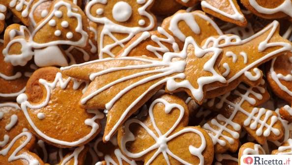 Ricetta Biscotti Di Natale.Biscotti Allo Zenzero Di Natale