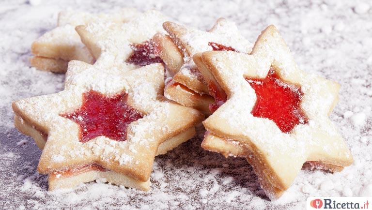 Ricette Di Biscotti Da Regalare A Natale.Ricetta Biscotti Di Natale Alla Marmellata Consigli E Ingredienti