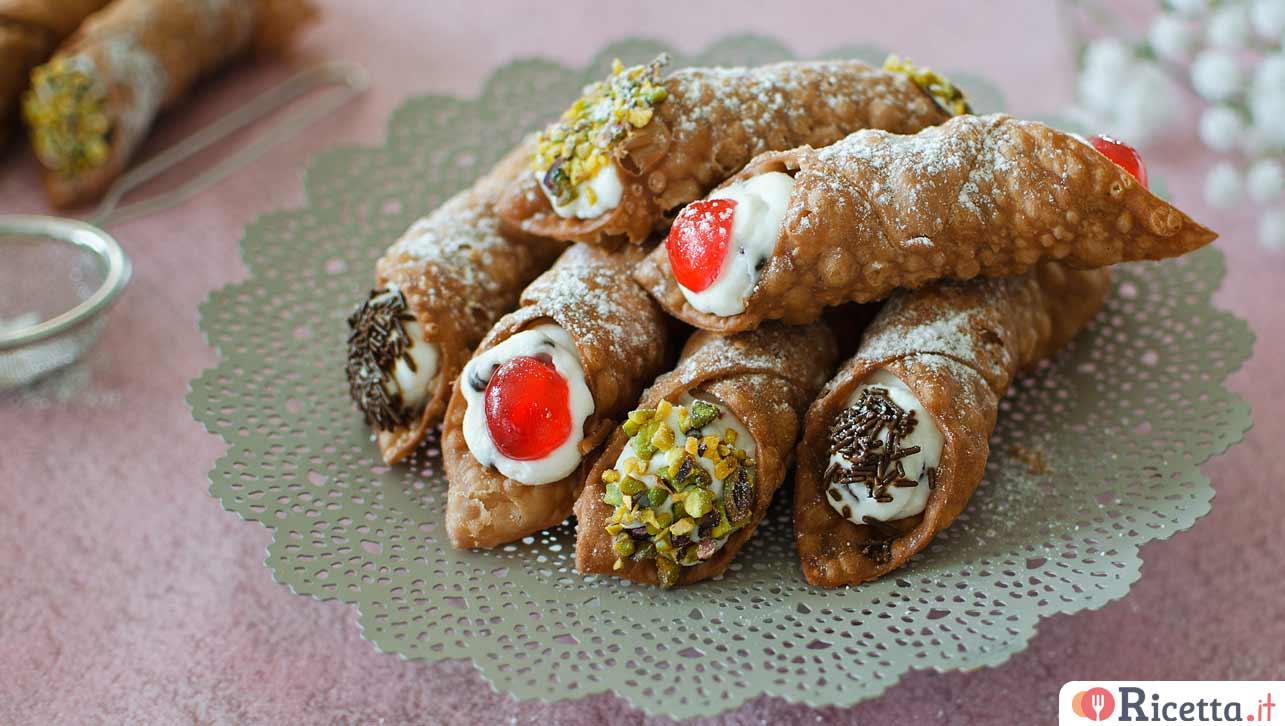 Ricetta X Cannoli.Ricetta Cannoli Siciliani Consigli E Ingredienti Ricetta It