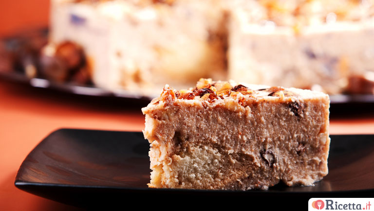 Cheesecake alle castagne