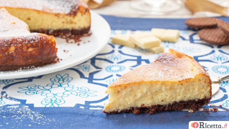 Ricetta Cheesecake Cotta.Ricetta Cheesecake Cotta Al Cioccolato Bianco E Cocco Consigli E Ingredienti Ricetta It