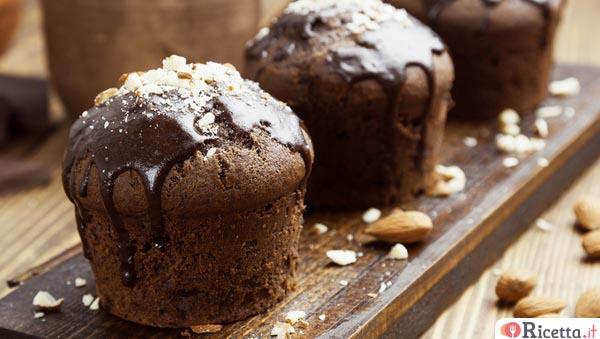 Ricetta Muffin Al Cioccolato E Mandorle Consigli E Ingredienti