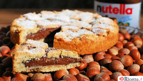 Crostata alla Nutella facile