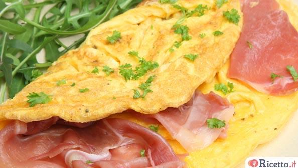 Ricetta Omelette Salate Prosciutto E Formaggio.Ricetta Omelette Al Prosciutto Cotto Consigli E Ingredienti Ricetta It