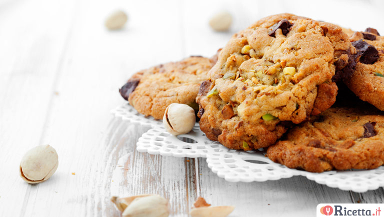 Cookies ai pistacchi