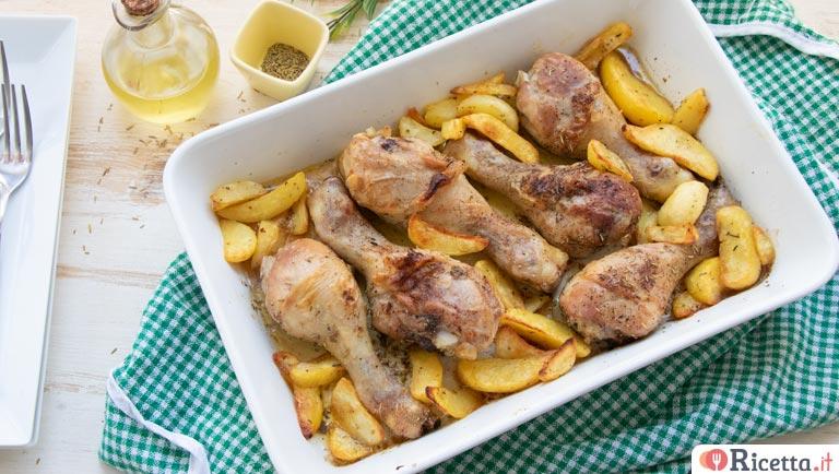 Ricetta Cosce Di Pollo Al Forno Consigli E Ingredienti Ricettait