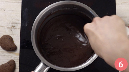 Crostata al cioccolato senza cottura - Passaggio 6