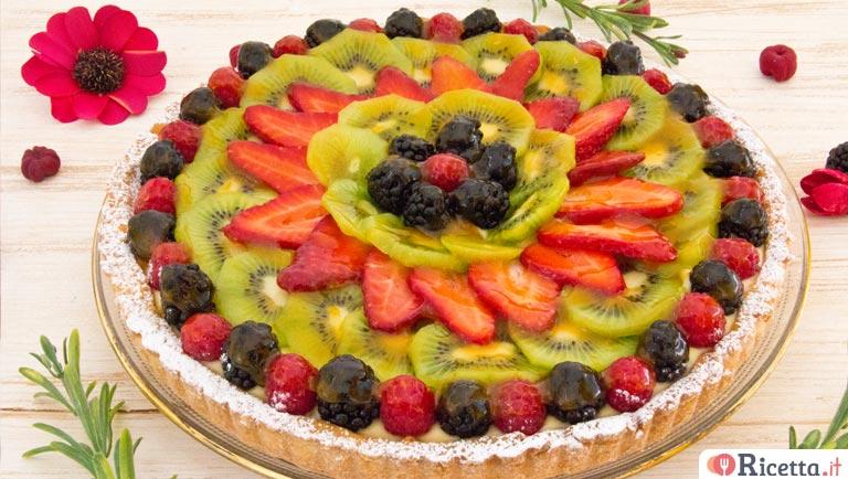 ricetta crostata di frutta consigli e ingredienti
