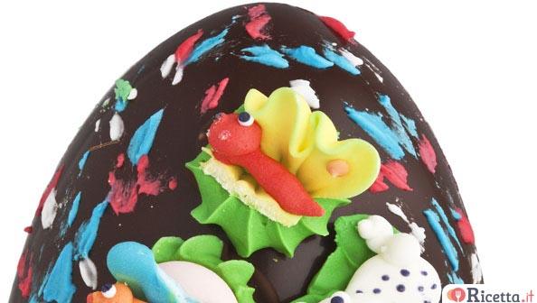 Decorare le uova di pasqua di cioccolato - Decorare le uova per pasqua ...
