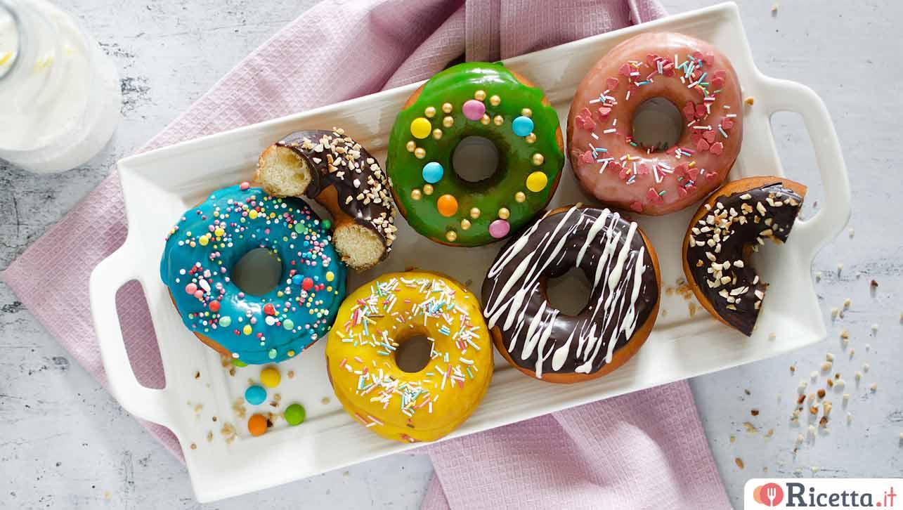 Ricetta Di Donuts.Ricetta Donuts Consigli E Ingredienti Ricetta It