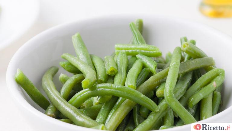 Ricetta fagiolini lessati consigli e ingredienti - Cucinare i fagiolini ...