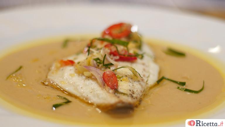 Ricetta Filetto Di Orata Salsa Di Pane E Sambal Consigli E