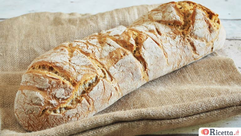 Ricetta Pane In Casa.Ricetta Pane Fatto In Casa Consigli E Ingredienti Ricetta It
