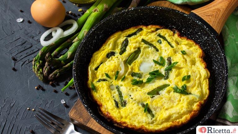 Ricetta Frittata Con Asparagi.Ricetta Frittata Di Asparagi Consigli E Ingredienti Ricetta It