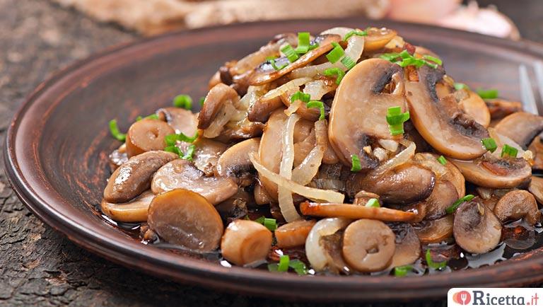 Ricetta Funghi E Cipolle In Padella Consigli E Ingredienti Ricetta It