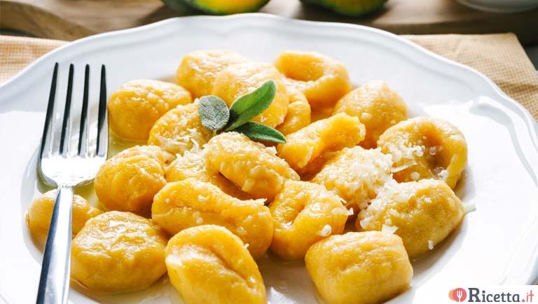 Ricetta Gnocchi Di Zucca Per Celiaci.Ricetta Gnocchi Di Zucca Senza Farina Consigli E Ingredienti Ricetta It
