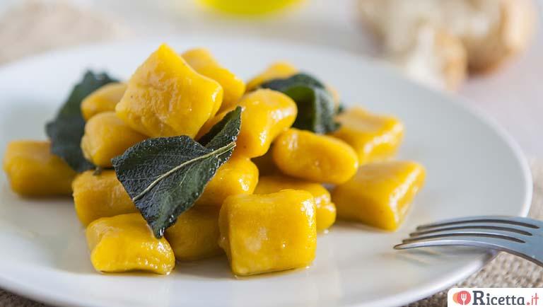 Ricetta Zucca E Uova.Ricetta Gnocchi Di Zucca Senza Uova Consigli E Ingredienti Ricetta It