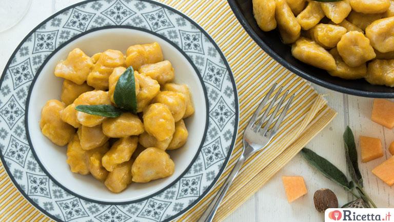 Ricetta Gnocchi Di Patate Novelle.Ricetta Gnocchi Di Zucca Consigli E Ingredienti Ricetta It