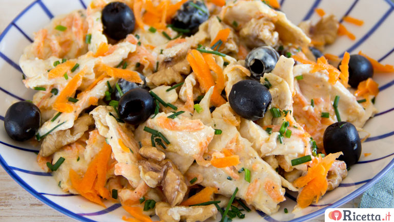 Insalata di pollo light allo yogurt