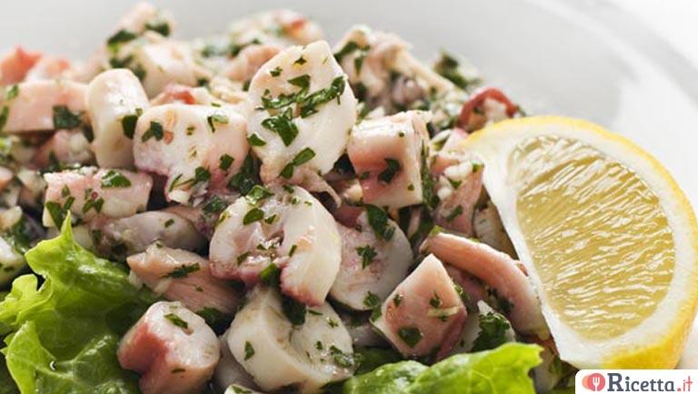 Ricetta insalata di polpo consigli e ingredienti ricetta