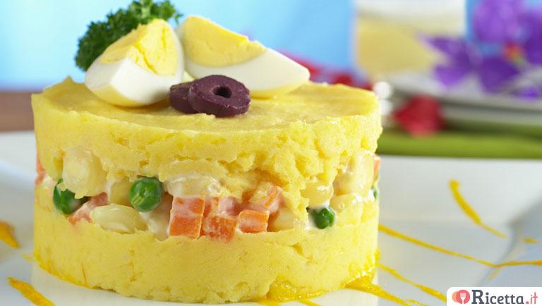 Ricetta Insalata Russa Moldava.Ricetta Insalata Mimosa Consigli E Ingredienti Ricetta It
