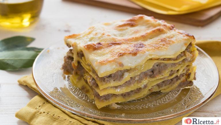 Ricetta Lasagne Bianche.Ricetta Lasagne Al Ragu Bianco Consigli E Ingredienti Ricetta It