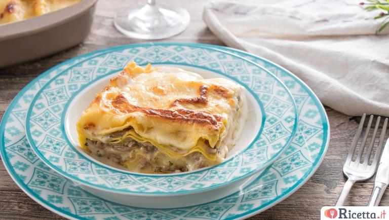 Ricetta Lasagne Funghi E Salsiccia.Ricetta Lasagne Funghi E Salsiccia Consigli E Ingredienti Ricetta It