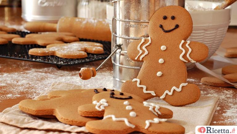 Biscotti Allo Zenzero Di Natale.Ricetta Omini Di Pan Di Zenzero Di Natale Consigli E Ingredienti