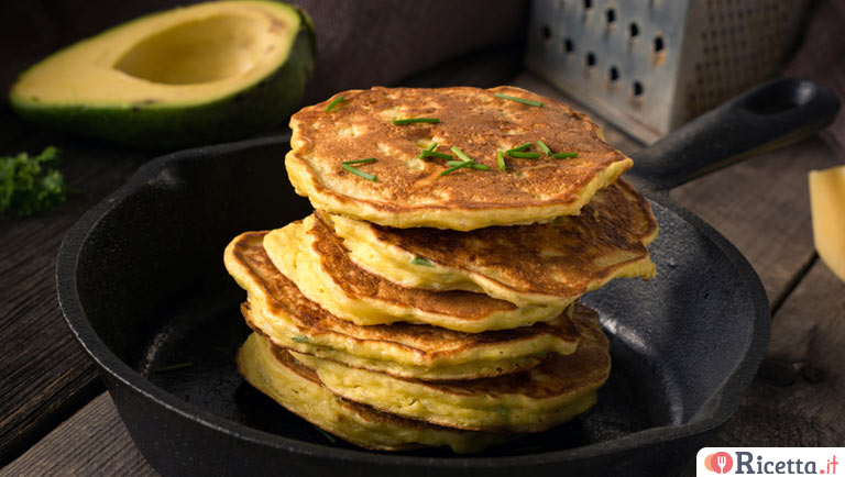 Pancake all'avocado