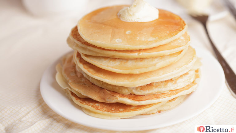 Ricetta Pancake Con Bicarbonato.Ricetta Pancake Senza Lievito Consigli E Ingredienti Ricetta It