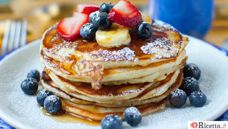 Ricetta Pancake Uova Farina E Latte.Ricetta Pancake Senza Uova Consigli E Ingredienti Ricetta It