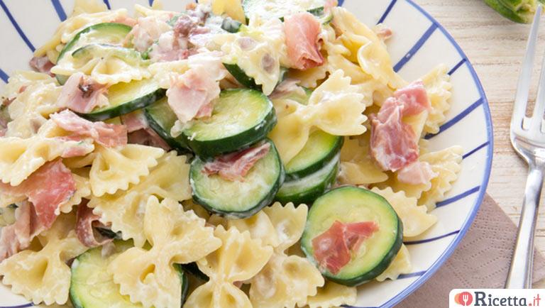 Ricetta Pasta Fredda Con Zucchine E Robiola Consigli E Ingredienti Ricetta It