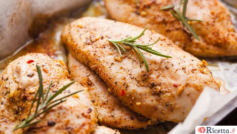 ricetta petto di pollo al forno dietetico