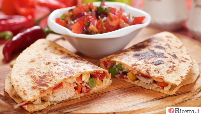 Quesadillas messicane