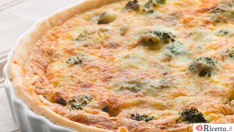 Ricetta Quiche Broccoli.Ricetta Quiche Di Funghi Pollo E Broccoli Consigli E Ingredienti Ricetta It