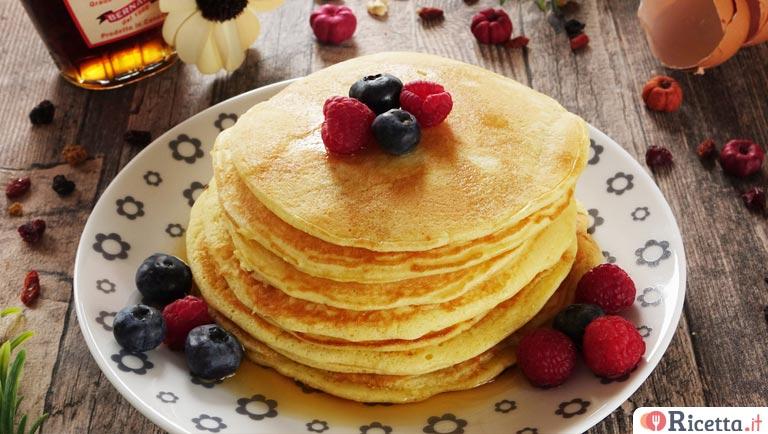 Ricetta Pancake Normali.Ricetta Pancake Facili E Veloci Consigli E Ingredienti Ricetta It