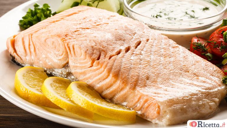 Ricetta Salmone Neonato.Ricetta Salmone Al Vapore Consigli E Ingredienti Ricetta It