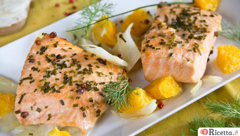 Ricetta Salmone Con Finocchi E Arance Consigli E Ingredienti