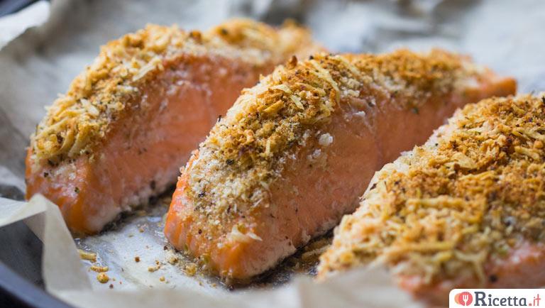 Ricetta Salmone Con Pistacchi.Ricetta Salmone Gratinato Ai Pistacchi Consigli E Ingredienti Ricetta It