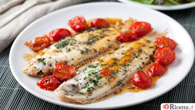 Ricetta sogliola al forno consigli e ingredienti for Cucinare sogliola