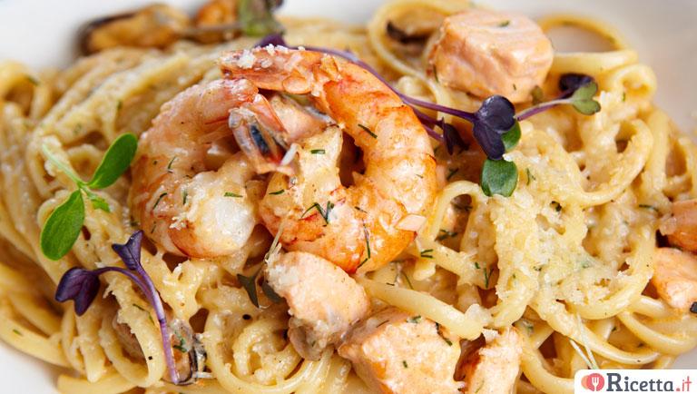 Ricetta Spaghetti mare e monti - Consigli e Ingredienti