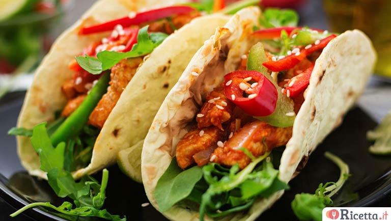 Ricetta Originale Tortillas Messicane.Ricetta Tacos Messicani Di Carne Consigli E Ingredienti Ricetta It
