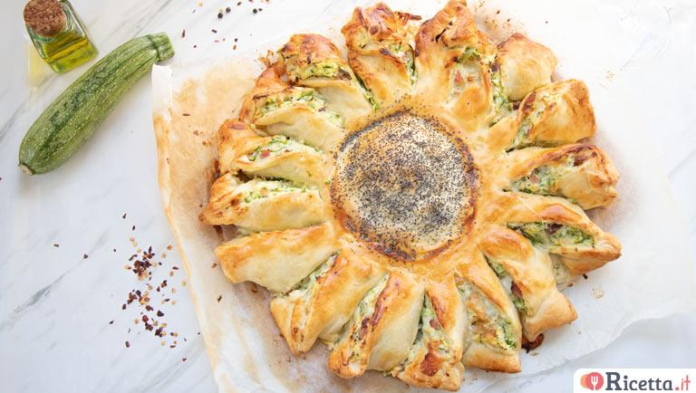 Ricetta Torta a sole con spinaci e ricotta - Consigli e