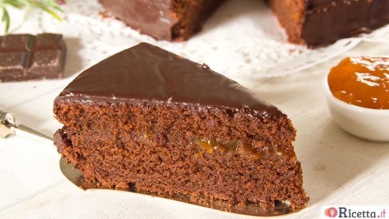 Torta Al Cioccolato Con Acqua.Torta Al Cioccolato All Acqua Con Ganache Al Cioccolato