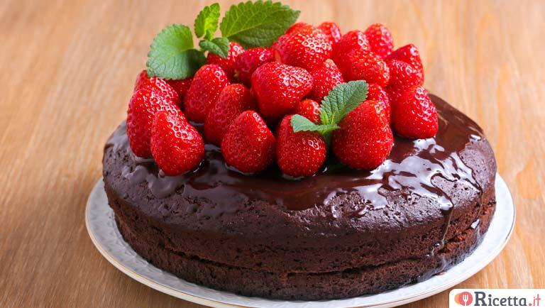 Ricetta Torta Al Cioccolato E Fragole.Ricetta Torta Al Cioccolato E Fragole Consigli E Ingredienti Ricetta It