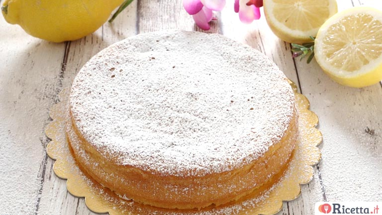 Torta Caprese Al Limone Con Il Bimby