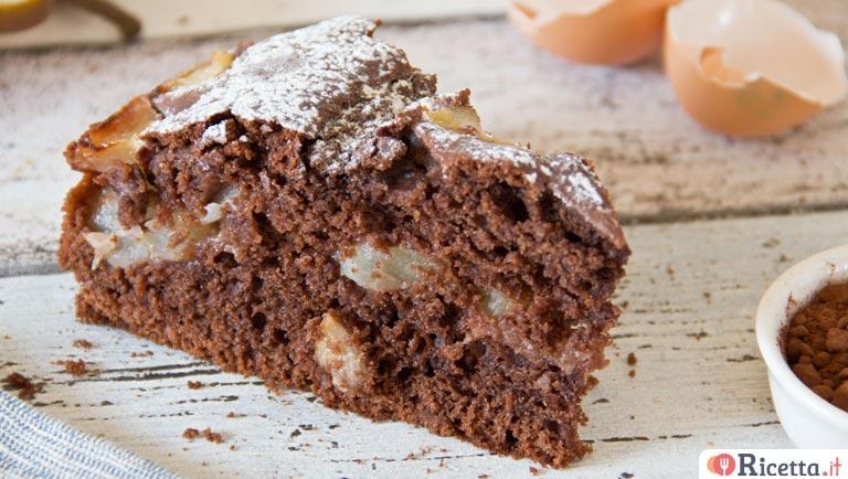 Ricetta Torta Pere E Cioccolato Consigli E Ingredienti Ricettait