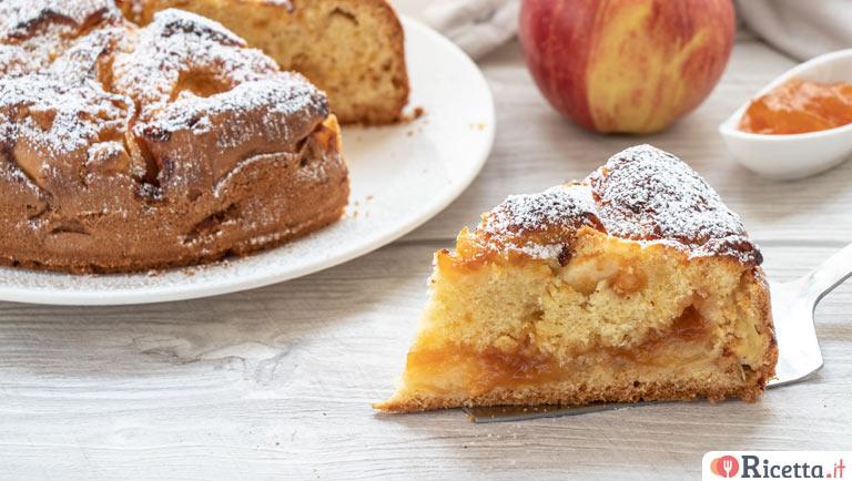 Torta composta di mele